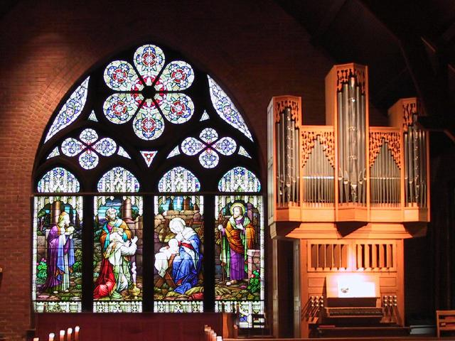 The concert was held at Christ Episcopal Church in Dallas, TX [The Wireless Consort Recorder Quartet concert at Christ Episcopal Church - Dallas, TX, March 28, 2004]