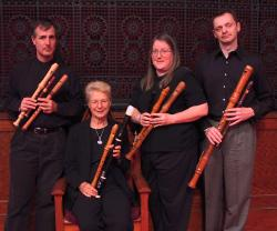 The Wireless Consort Recorder Quartet